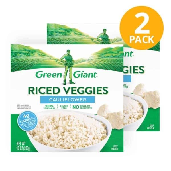 Green Giant, Cauliflower Riced Veggies, 10 OZ (Pack de 2)