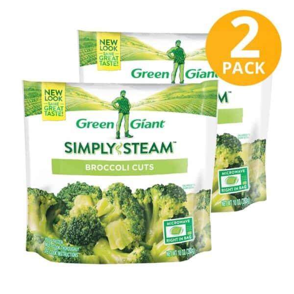 Green Giant, Broccoli Cuts Congelados, 10 OZ (Pack de 2)