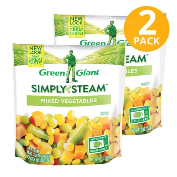Green Giant, Vegetales Mixtos Congelados, 10 OZ (Pack de 2)