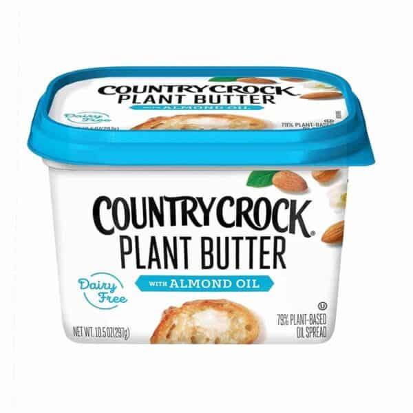Country Crock, Plant Butter with Almond Oil Vegan, 10.5 OZ