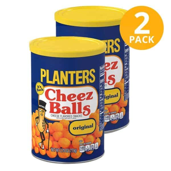 Planters Cheez Balls Original, 2.75 OZ (Pack de 2)