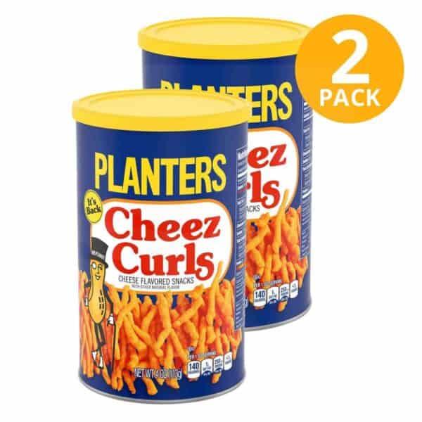 Planters Cheez Curls, 4 OZ (Pack de 2)