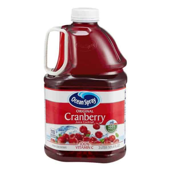 Ocean Spray Original, Cranberries Juice Cocktail, 3 L