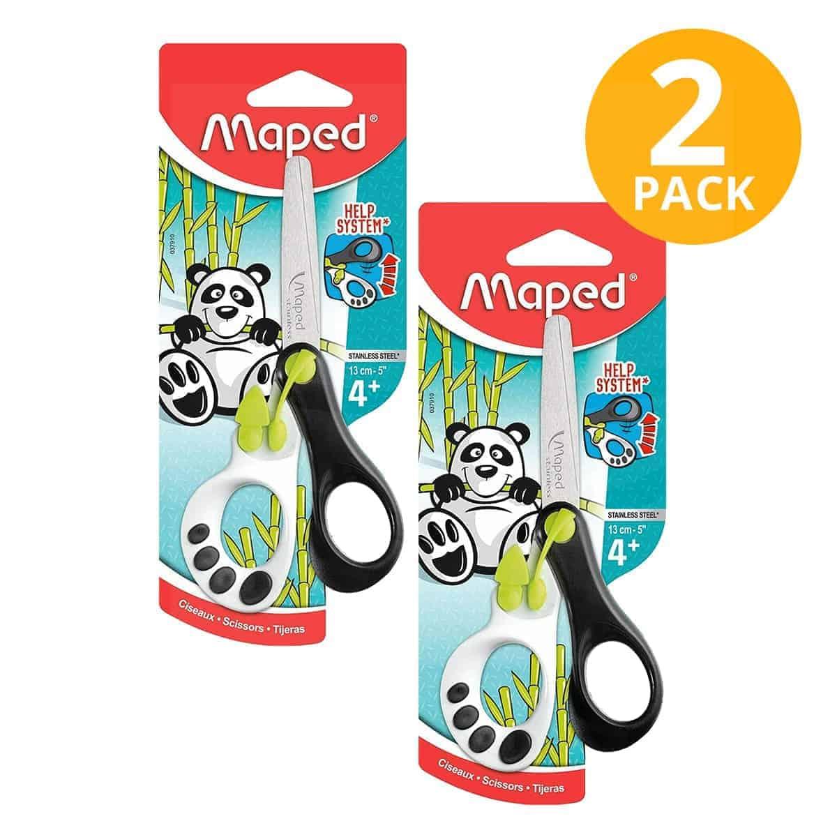 Maped, Tijeras para Niños Koopy, 13 cm (Pack de 2)