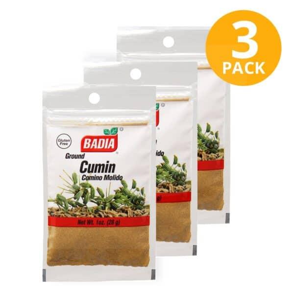 Badia, Comino Molido, 28 gr (Pack de 3)