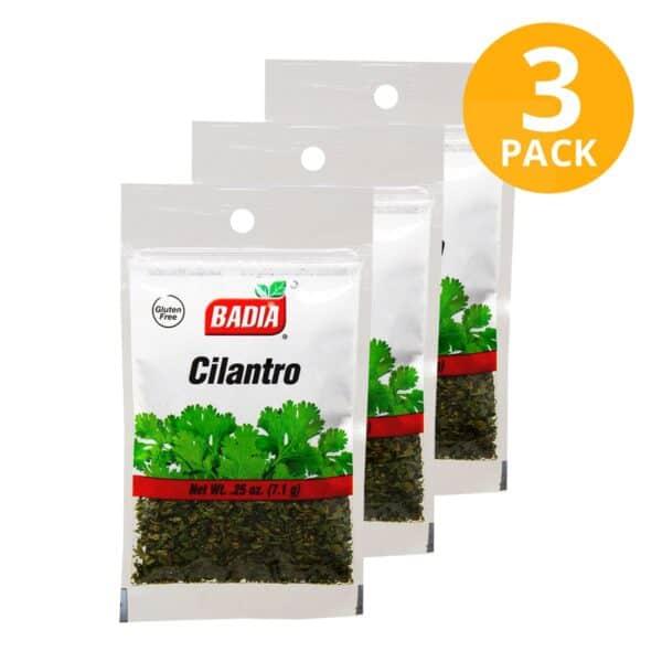 Badia, Cilantro, 7.1 gr (Pack de 3)