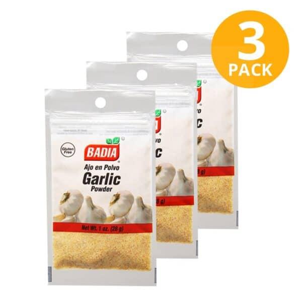 Badia, Ajo en Polvo, 28 gr (Pack de 3)