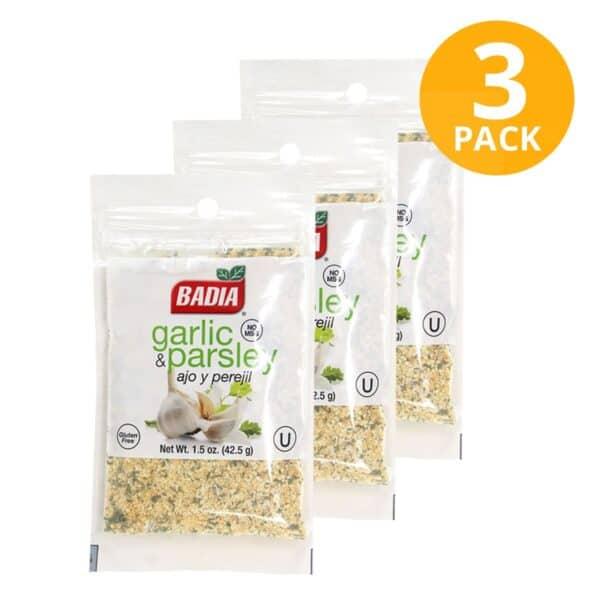 Badia, Ajo y Perejil, 42.5 gr (Pack de 3)