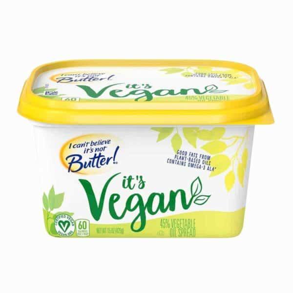 I Can't Believe It's Not Butter, It's Vegan, 15 OZ