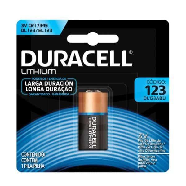 Baterías Duracell 123