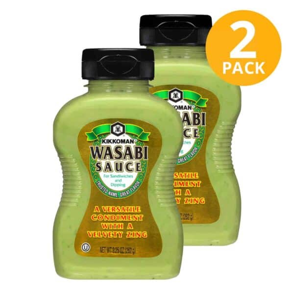 Kikkoman, Wasabi Sauce, 9.25 OZ (Pack de 2)