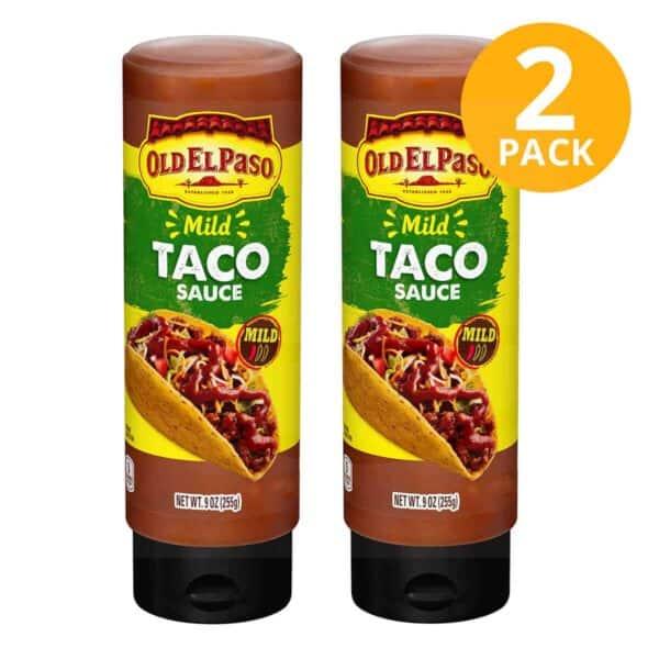 Old El Paso, Mild Taco Sauce, 9 OZ (Pack de 2)