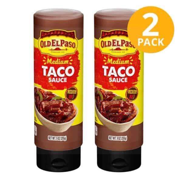 Old El Paso, Médium Taco Sauce, 9 OZ (Pack de 2)