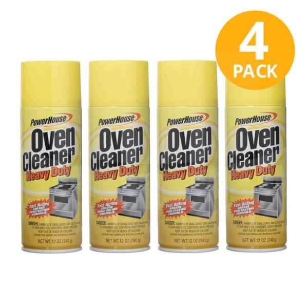 Limpiador para Hornos Aerosol, PowerHouse, 12 OZ (Pack de 4)