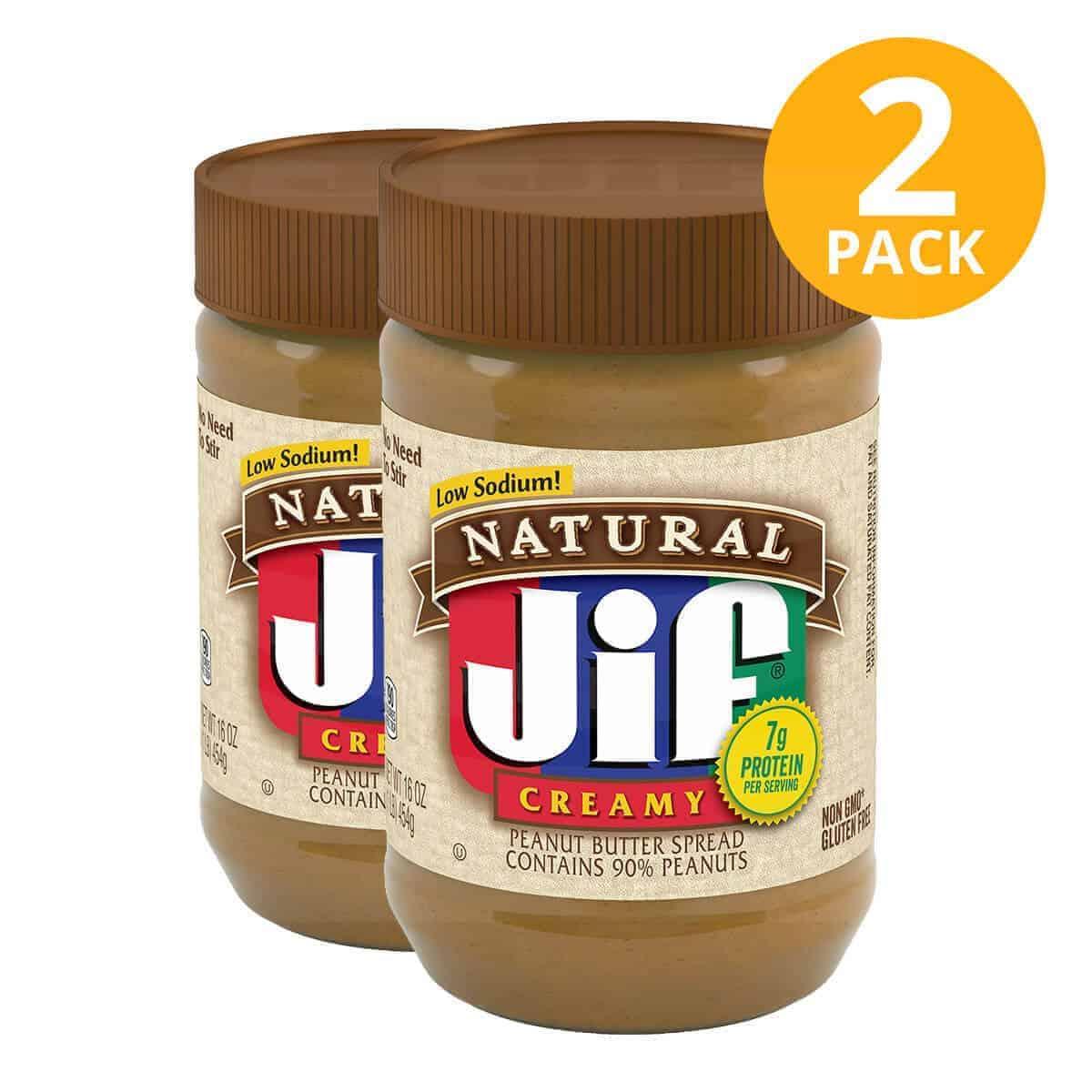 Jif Natural Peanut Butter