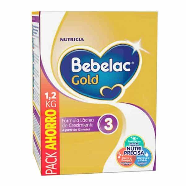 Bebelac Gold 3, Fórmula Infantil, 1200 gr