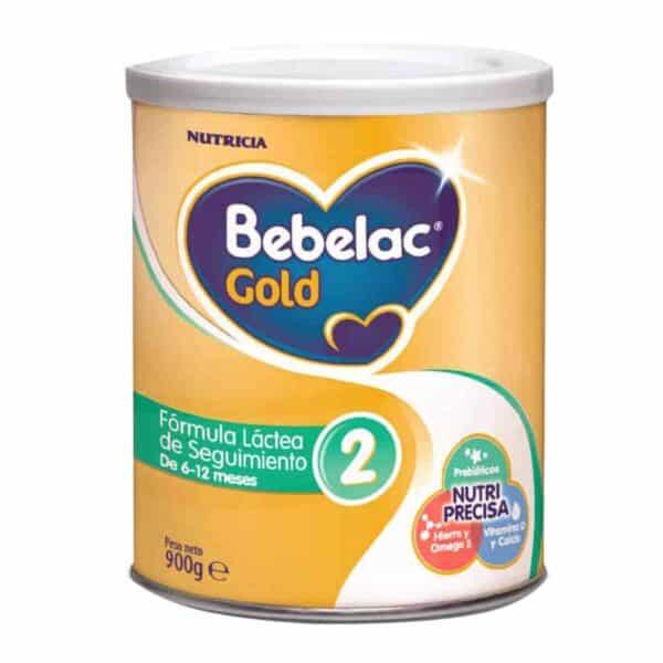 Bebelac Gold 2, Fórmula Infantil, 900 gr