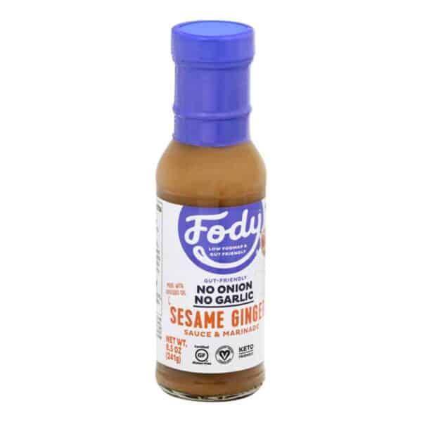 Fody, Sesame Ginger Sauce & Marinade, 8.5 OZ