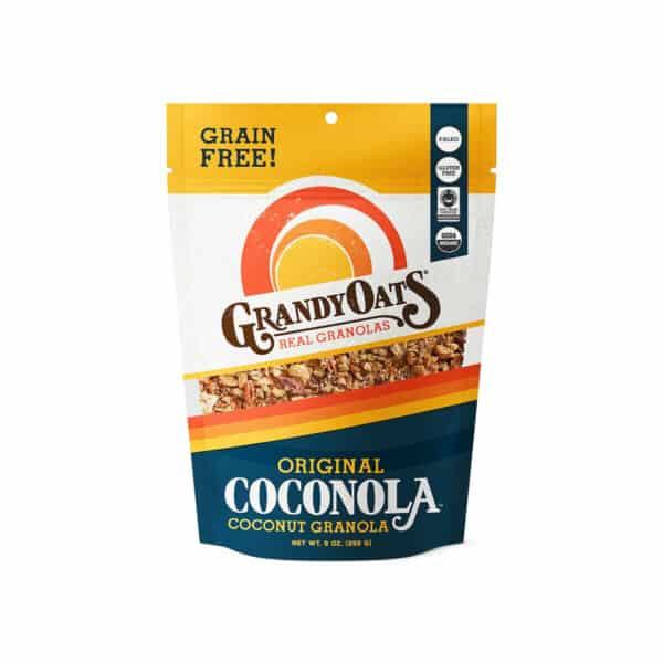Coconola Original Grain-Free, GrandyOats 9 OZ