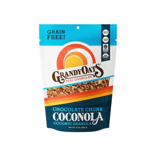 Coconola Chocolate Chunk Grain-Free, GrandyOats 9 OZ