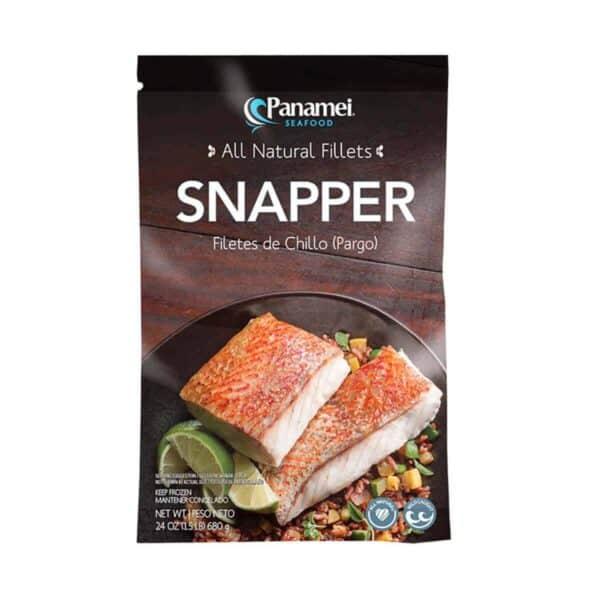 Pargo (Snapper) en Porciones, Panamei, 1.5 lb (680 gr)