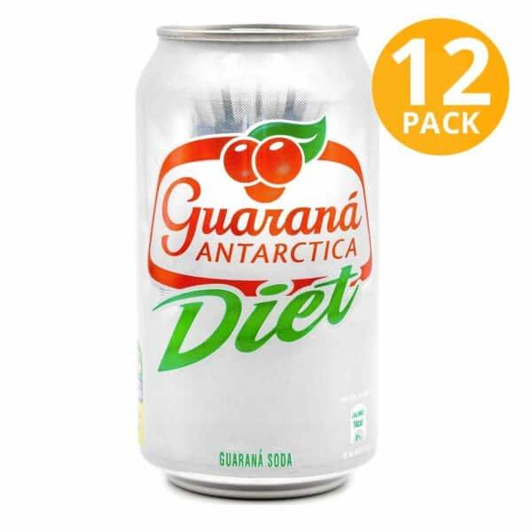 Guaraná Diet, 350 ml (Pack de 12)