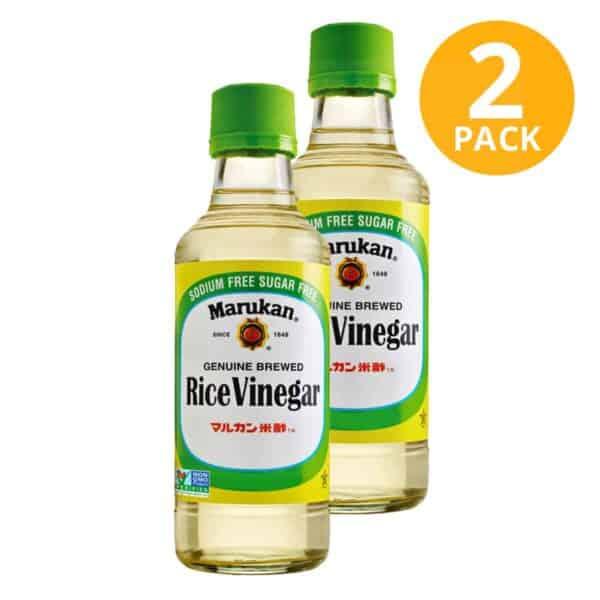 Rice Vinegar, Marukan, 24 OZ (Pack de 2)
