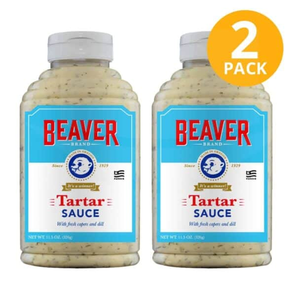Tartar Sauce, Beaver Brand, 11.5 OZ (Pack de 2)