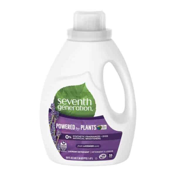 Seventh Generation, Detergente Líquido, Lavender, 50 OZ