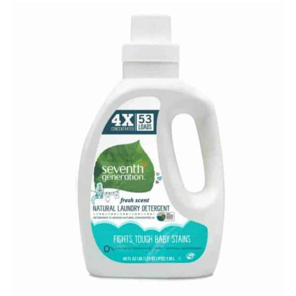 Seventh Generation, Detergente Líquido,, 40 OZ