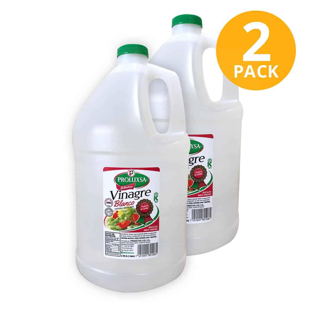 Vinagre Blanco, Proluxsa, 1 Galón (Pack de 2)