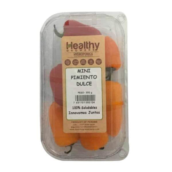 Mini Pimientos Dulces Hidropónicos, Healthy Growers, 200 gr
