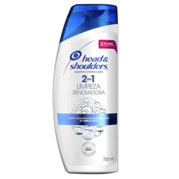 Shampoo y Acondicionador Head & Shoulders, Limpieza Renovadora, 700 ml