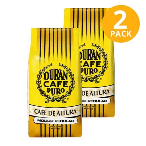 Durán Café Puro de Altura Molido Regular 425 gr (Pack de 2)