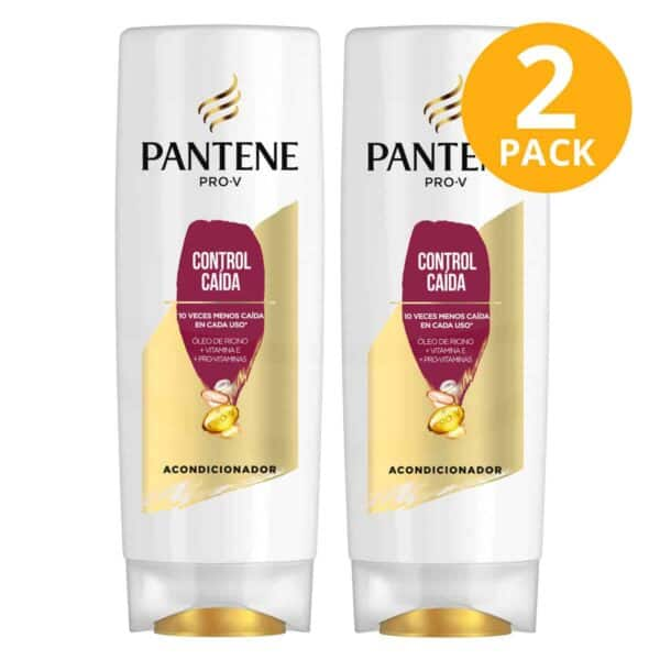 Pantene Pro-V Acondicionador Control Caída, 400 ml (Pack de 2)