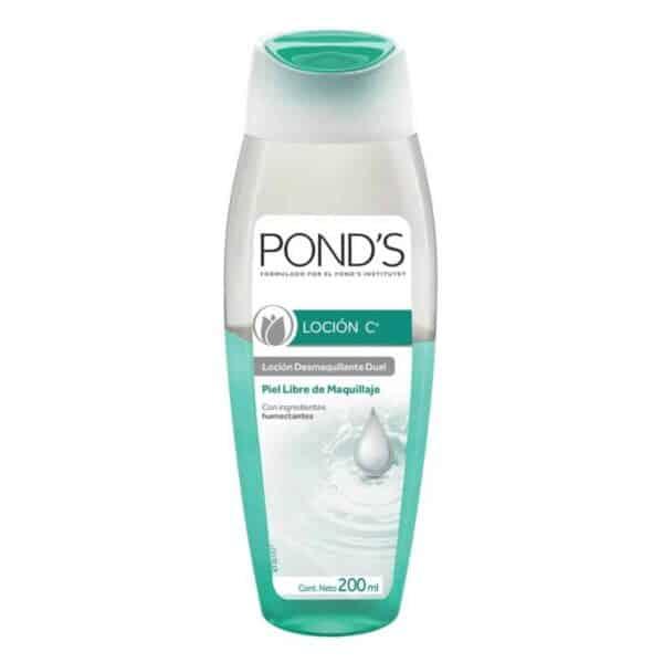 Pond's, Loción C Dual Desmaquillante, 200 ml
