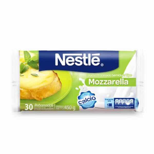 Nestlé, Queso Mozzarella, 30 Rebanadas