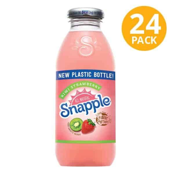 Snapple, Kiwi Strawberry, 16 OZ (Pack de 24)