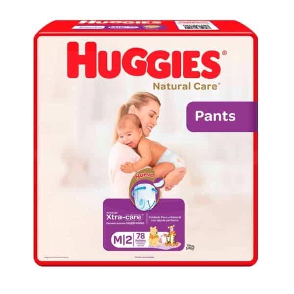 Huggies Natural Care Pants M, 78 Pañales