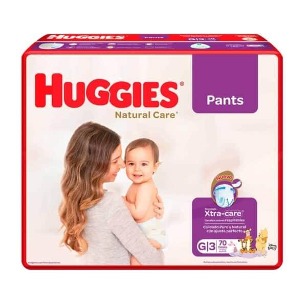 Huggies Natural Care Pants G, 70 Pañales