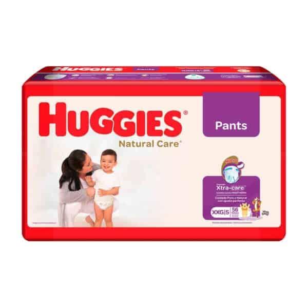 Huggies Natural Care Pants XXG, 56 Pañales