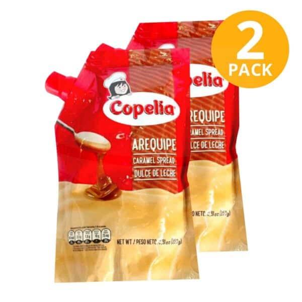 Copelia Arequipe (Dulce de Leche), 250 gr (Pack de 2)