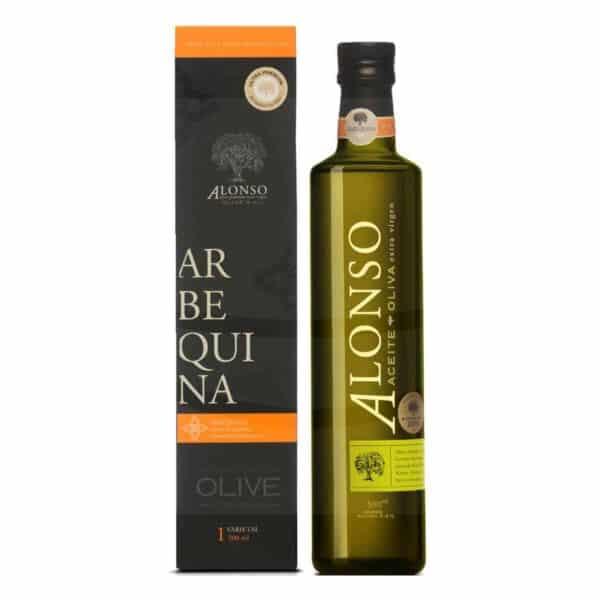 Aceite Alonso Premium de Oliva Extra Virgen Arbequina, 500 ml