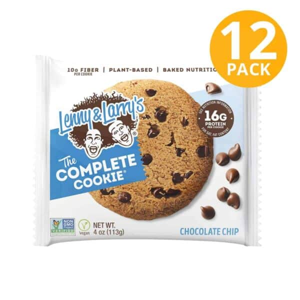 Lenny & Larry's, Completo Cookie, Chocolate Chips, 4 OZ (Pack de 12)