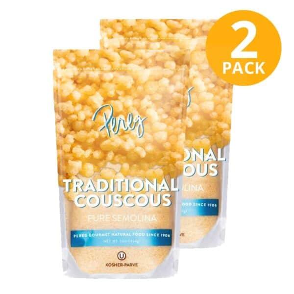 Pereg Traditional Couscous, 16 OZ (Pack de 2)