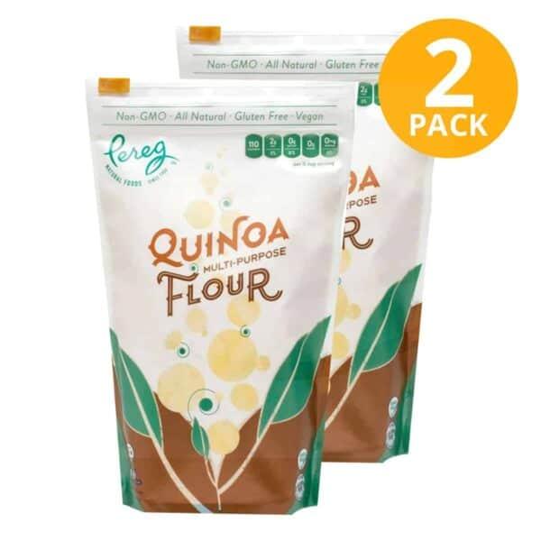 Pereg Quinoa Flour, 16 OZ (Pack de 2)