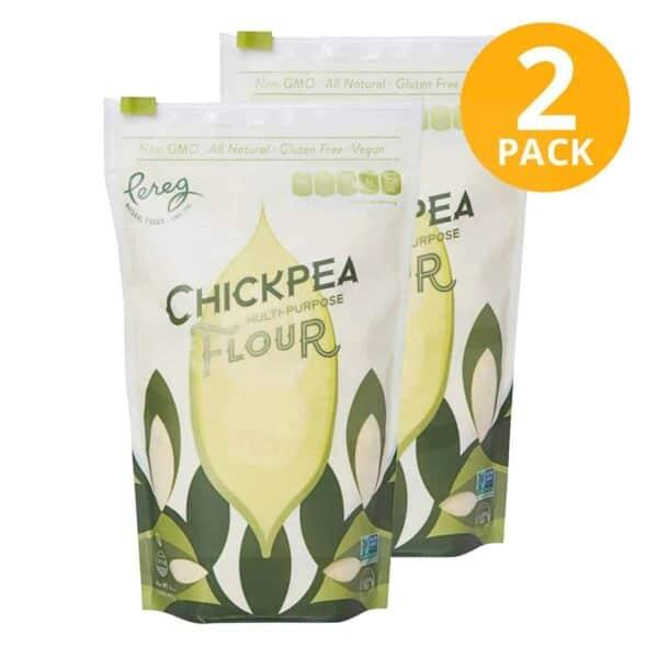 Pereg Chickpea Flour, 16 OZ (Pack de 2)