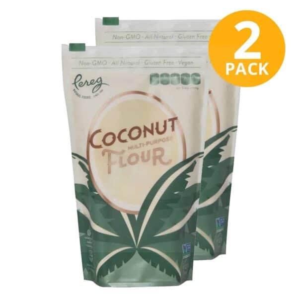 Pereg Coconut Flour, 16 OZ (Pack de 2)