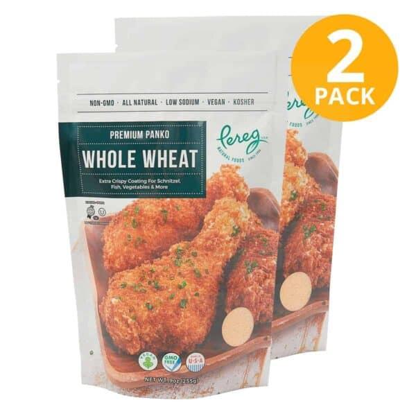 Pereg Panko Premium Whole Wheat, 9 OZ (Pack de 2)