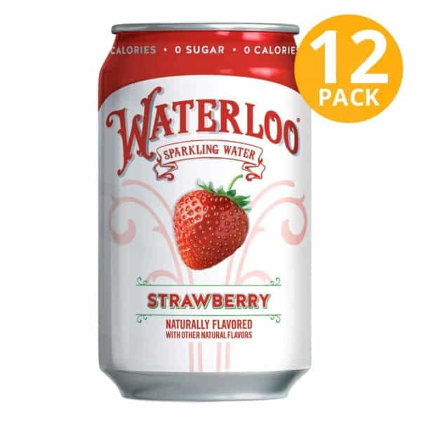 Waterloo Strawberry, 355 ml (Pack de 12)